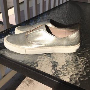Zara Basic Collection Gold Shoes